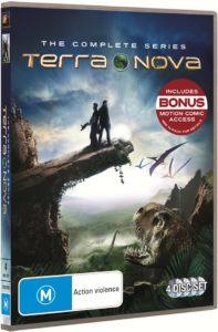 Terra Nova DVD Packshot