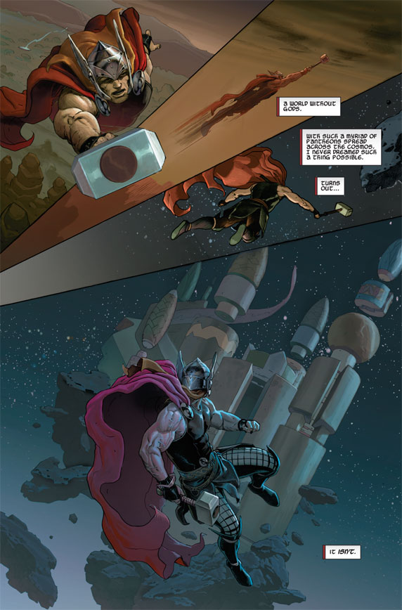 Thor: God of Thunder #1 Preview 01