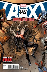 AvX: Consequences #1 Cover