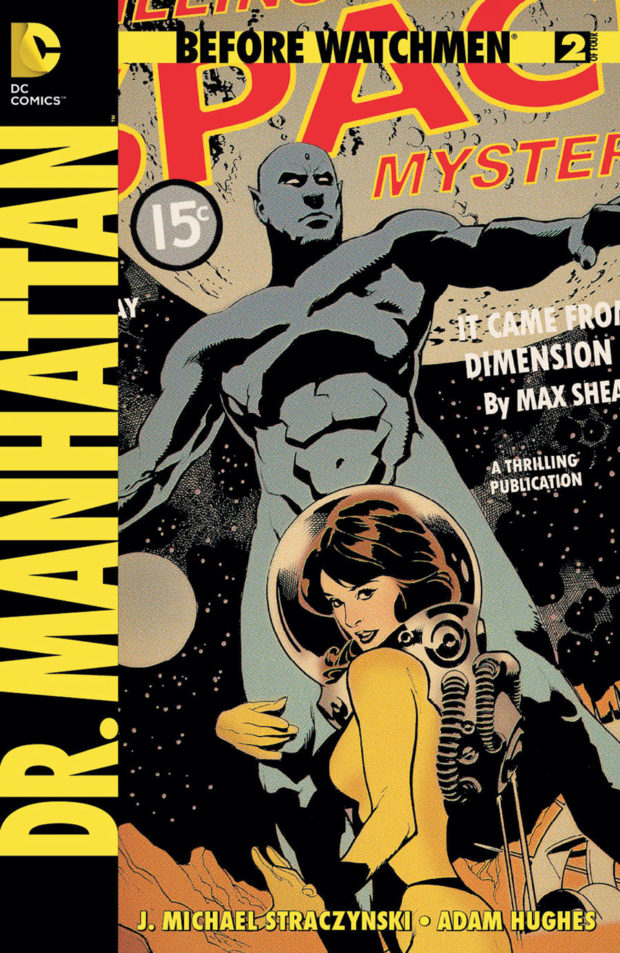 BEFORE WATCHMEN: DR. MANHATTAN #2 (DC Comics) - Artist: Adam Hughes