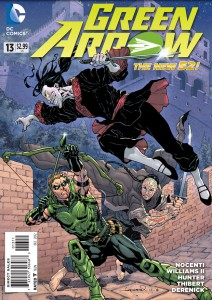 Green Arrow #13 (2012) Cover