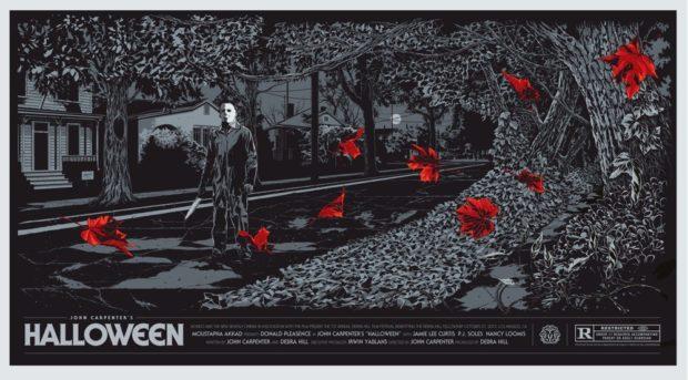 Halloween poster - Artist: Ken Taylor