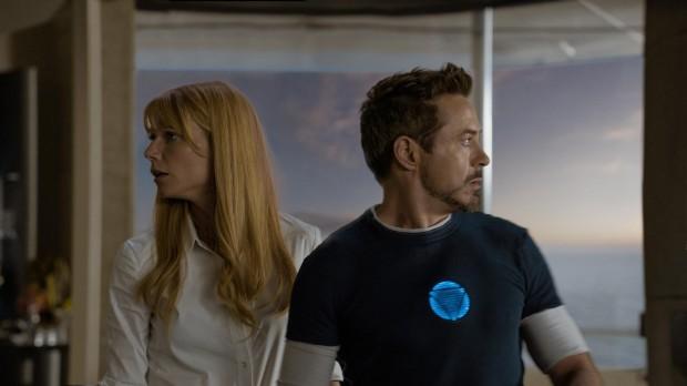 Iron Man 3 - Tony Stark (Robert Downey Jr) and Pepper Potts (Gwyneth Paltrow)