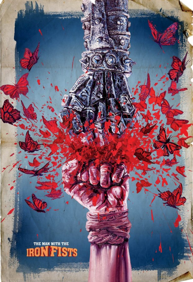 The Man With the Iron Fists poster - Ignition Print