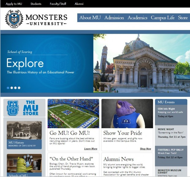 Monsters University - Viral