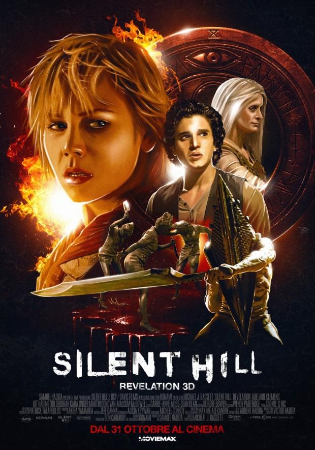 Silent Hill: Revelation 3D poster - Artist: BIG JELLYFISH®