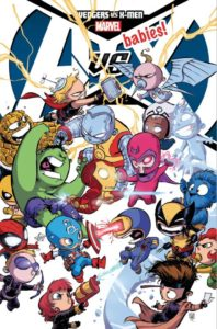 A-Babies Vs. X-Babies Cover - Skottie Young