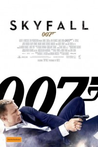 Skyfall Australian poster
