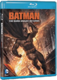 The Dark Knight Rises - Part 2 Blu-ray Cover