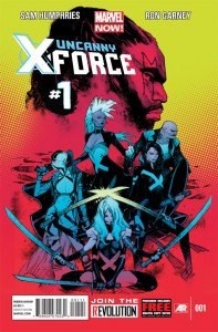 Uncanny X-Force #1 Cover (Marvel)