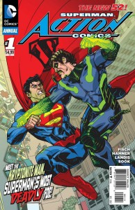 Action Comics #1 Annual (2012) Cover