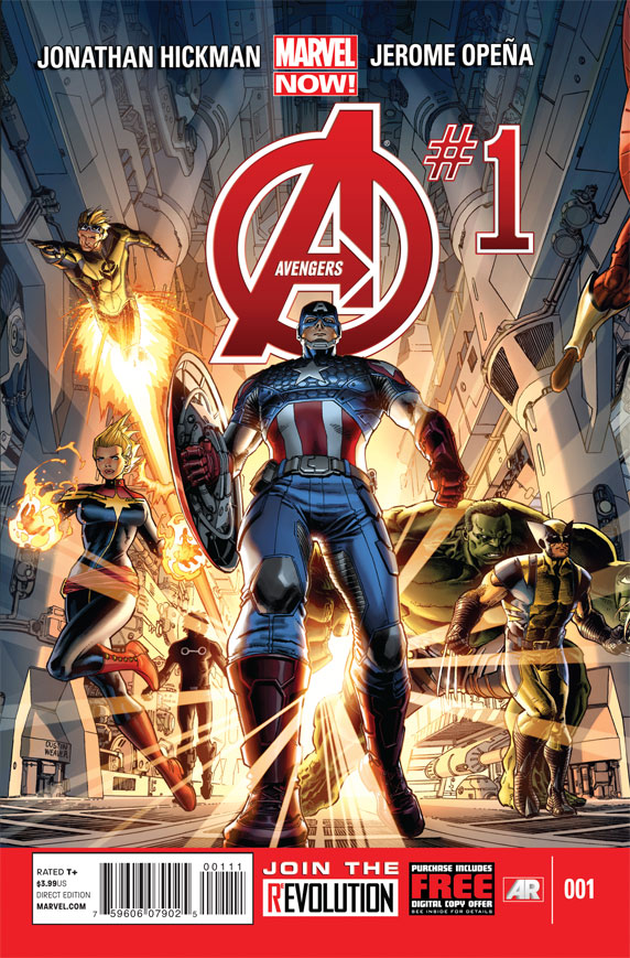 Avengers Cover 1 - Jerome Opena