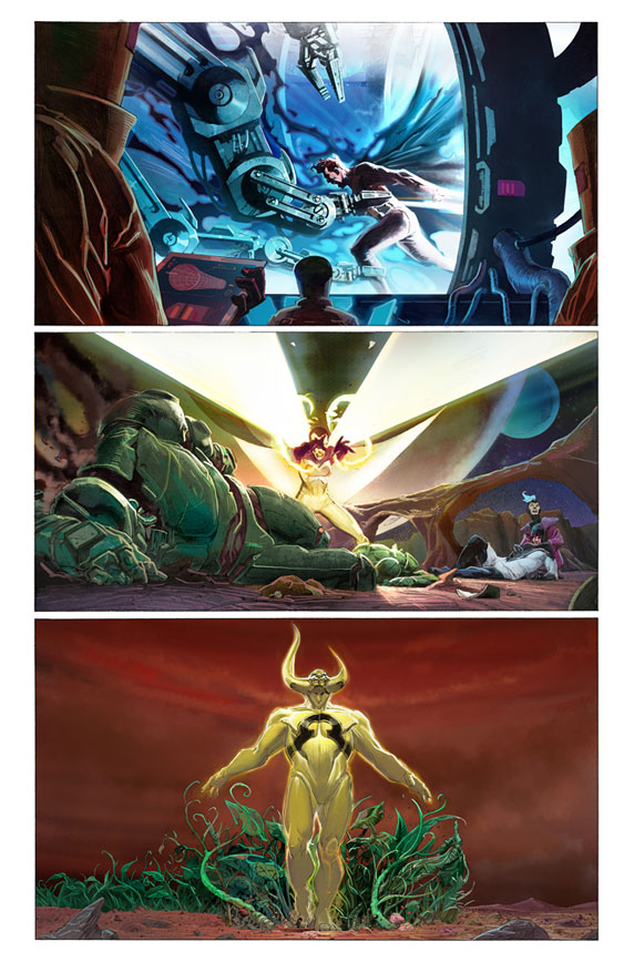 Avengers Preview 1 - Jerome Opena