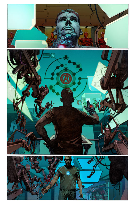 Avengers Preview 3 - Jerome Opena