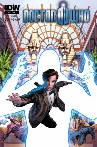 Doctor Who (IDW) - Volume 3 #2 (Cover) - Mark Buckingham