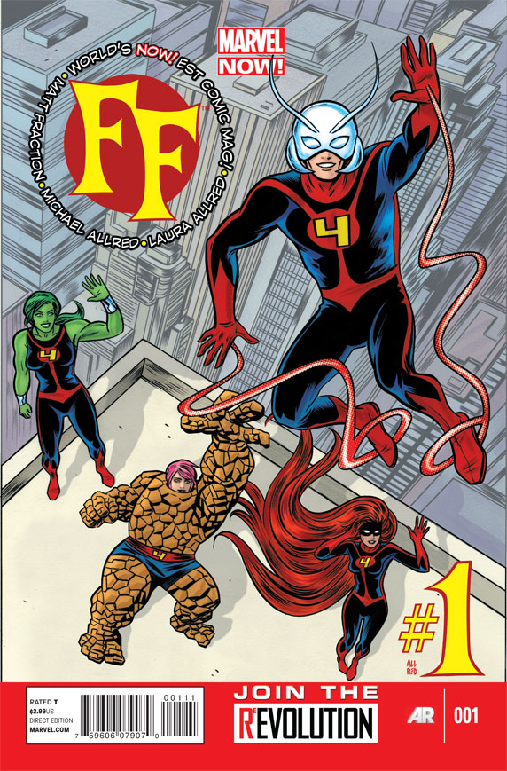 FF #1 Cover - Mike Allred