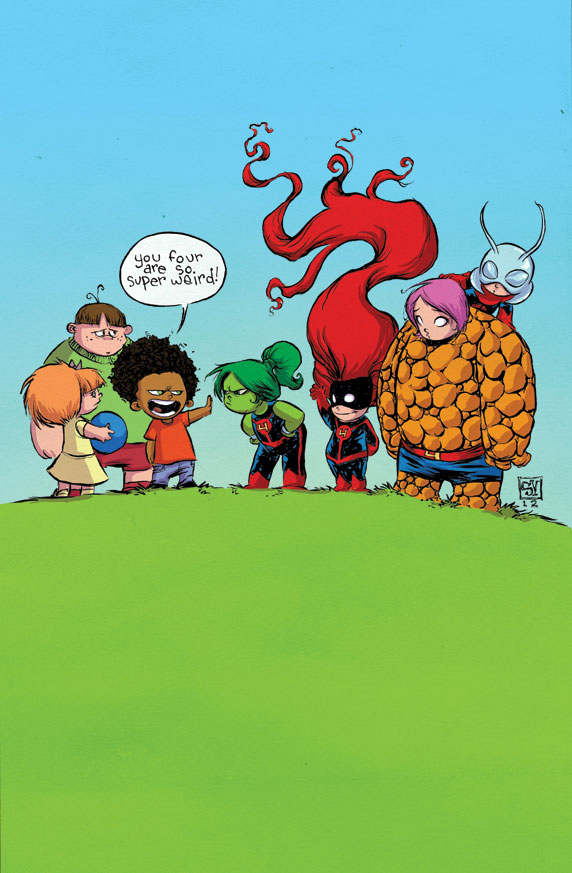 FF #1 Preview - Skottie Young Variant