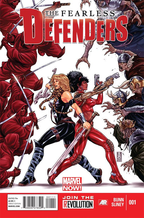 Fearless Defender 1 Cover