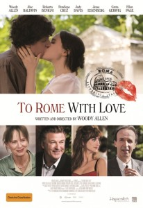 To Rome With Love -Australian Poster