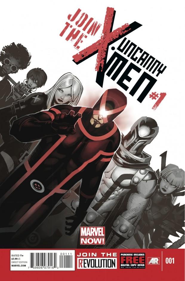 Uncanny X-Men #1 Cover - Brian Michael Bendis and Chris Bachalo