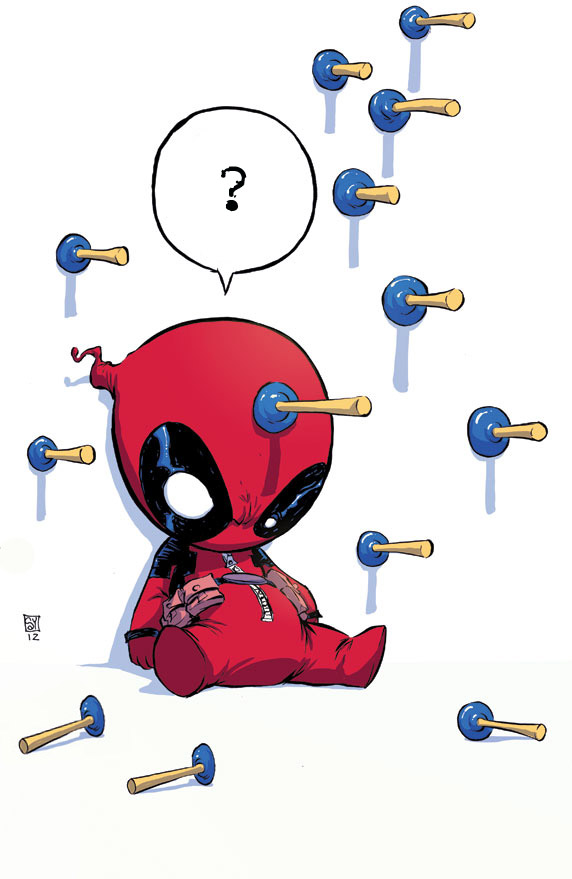 Deadpool by Skottie Young (Modified)