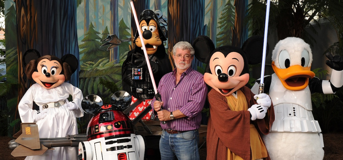 Star Wars, Disney and George Lucas