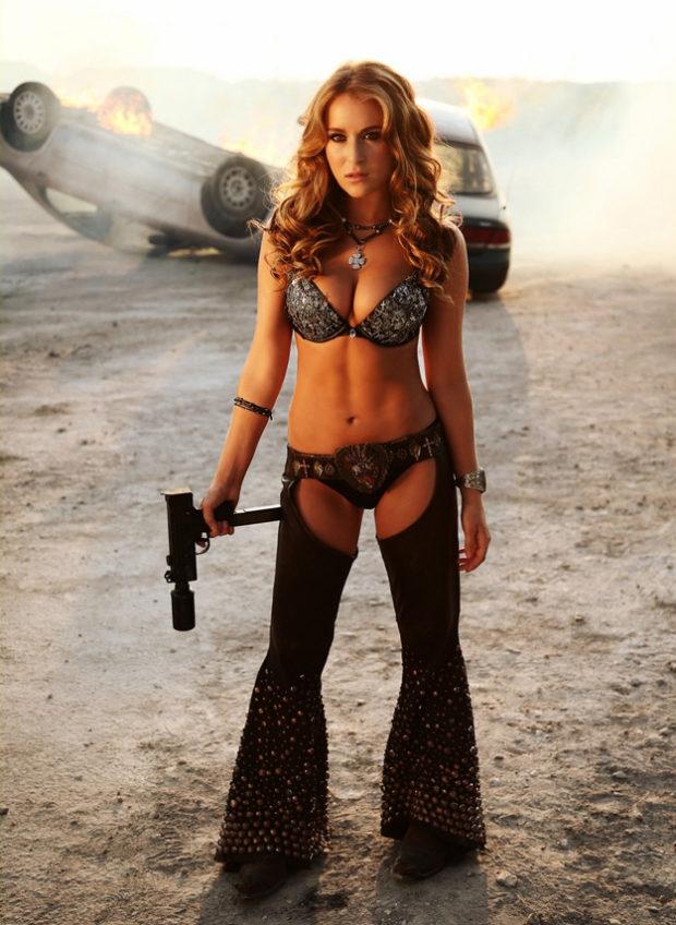 Alexa Vega - Bikini, Nude - Machete Kills