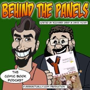 Behind the Panels: Issue 43 cover
