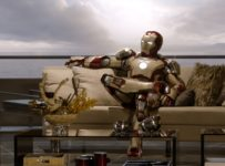 IRON MAN 3 Sitting on a couch/sofa