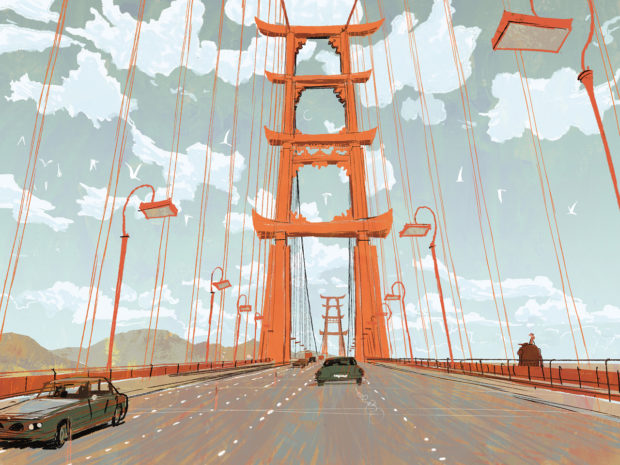 Big Hero 6 - Concept Art - Bridge
