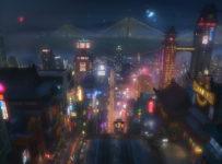 Big Hero 6 - Concept Art - San Fransokyo