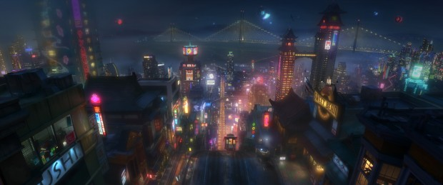 Big Hero 6 - Concept Art - San Fransokyo