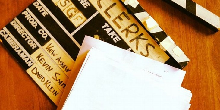Clerks 3 script - Kevin Smith