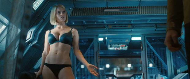 Star Trek Into Darkness - Alice Eve - Underwear