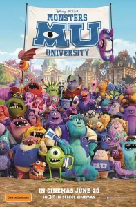 Monsters University poster (Australia)