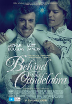Behind the Candelabra - poster (Australia)