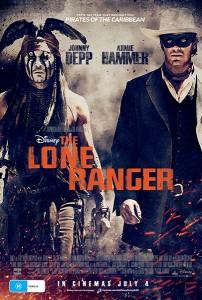 The Lone Ranger poster (Australia)