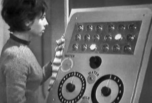 Doctor Who - Susan at the food machine