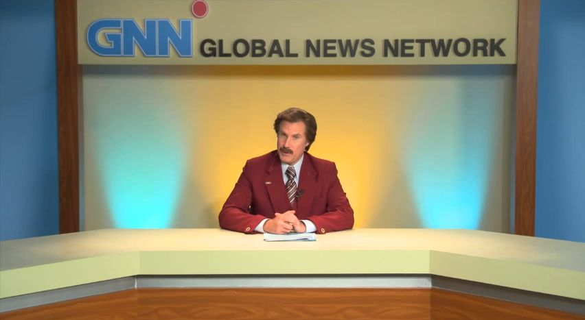Ron Burgundy reflects on the Australian election