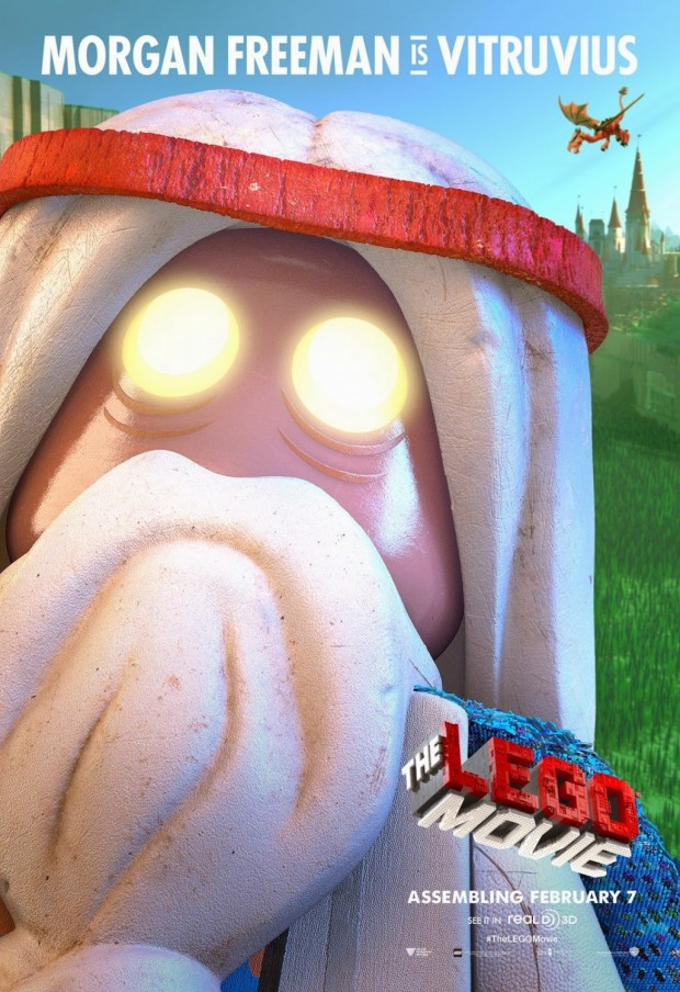 The LEGO Movie (2014) - Vitruvius