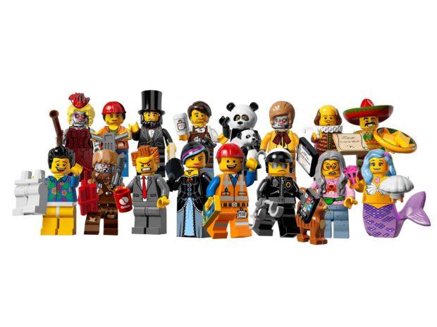 The LEGO Movie Minifigs