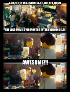 The LEGO Movie - Australia