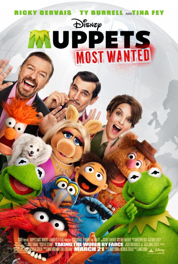 The Muppets Most Wanted poster