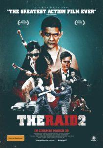 The Raid 2 - Australian poster