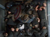 Captain America: The Winter Soldier - Elevator fight scene