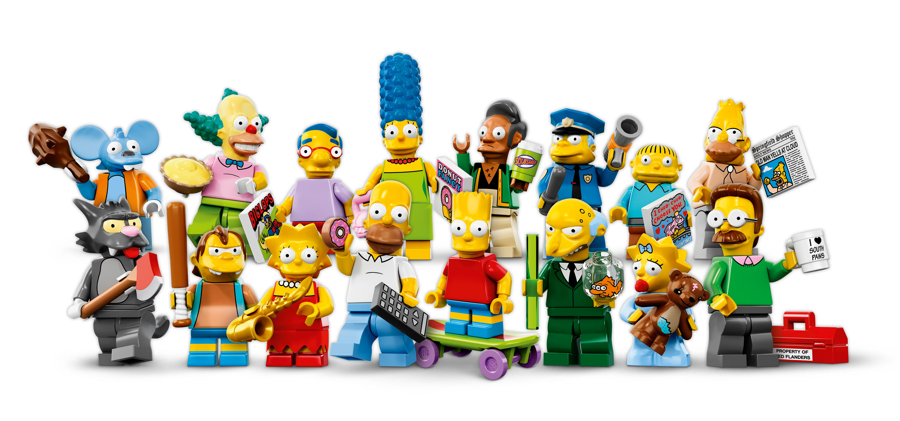The Simpsons Series Collectible Minifigures (71005)