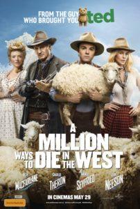A Million Ways to Die in the West poster (Australia)