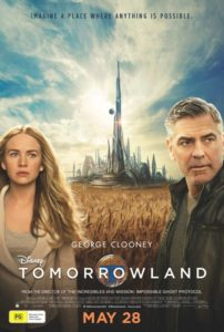 Disney's TOMORROWLAND poster (Australia)