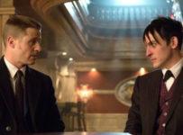 Jim Gordon (Ben McKenzie) and Penguin (Robin Lord Taylor) - Gotham Season 1