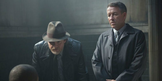 Sean Pertwee and Donal Logue - Gotham Season 1
